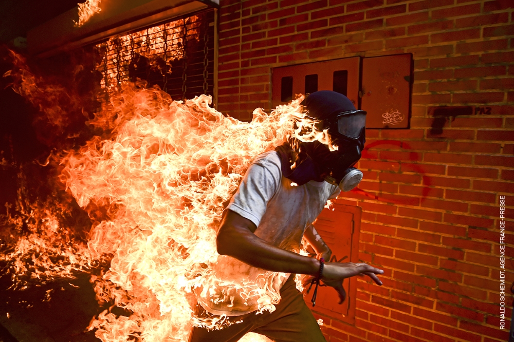 Titre : Crise au Venezuela © Ronaldo Schemidt, Agence France-Presse