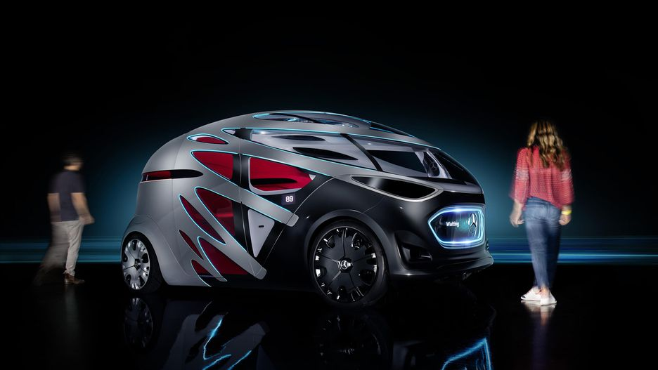 Le concept Vision Urbanetic de Mercedes-Benz n'est pas le plus joli, mais il est le seul à s'attaquer à la congestion urbaine.