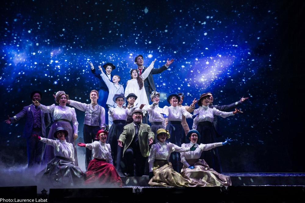 Photo: Laurence Labat, Facebook Mary Poppins la comédie musicale