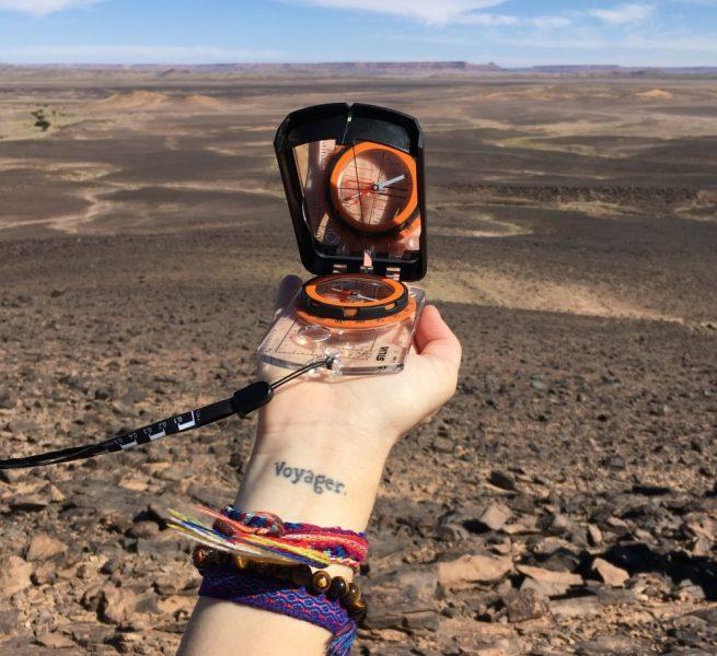 Le Trek Rose Trip est un défi d'orientation. Photo: Véronique Leduc