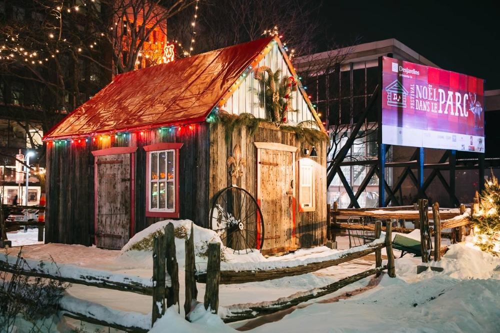 Photo: Facebook Noël dans le parc