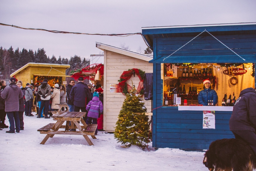 Photo: Facebook Marché de Noël Sainte-Justine