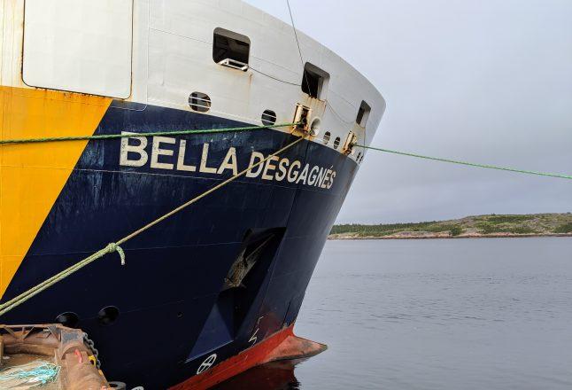 Bella Desgagnés: approvisionner les villages de la Basse-Côte-Nord
