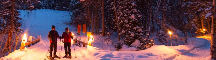 C'est l'hiver… et ça bouge dans les régions du Québec!