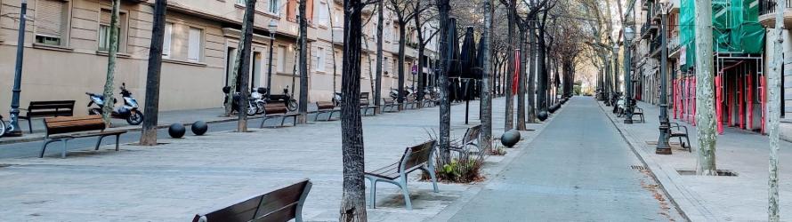 Barcelone en temps de pandémie