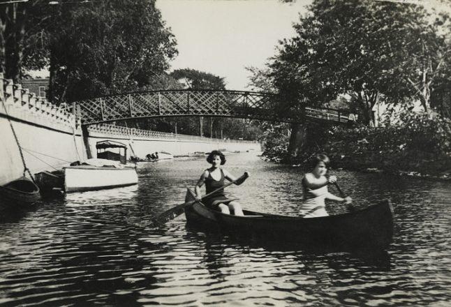 200 ans du canal de Lachine en photos
