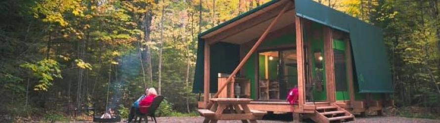 Camping d'automne: bons plans et conseils