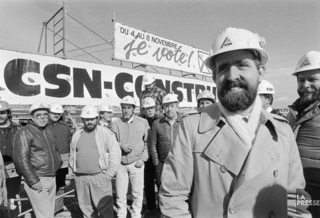 100 ans de la CSN en photos